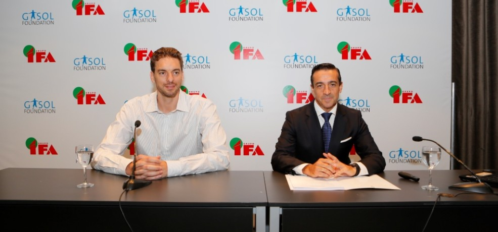 Grupo IFA and Gasol Foundation join forces to promote healthy lifestyles in Spain