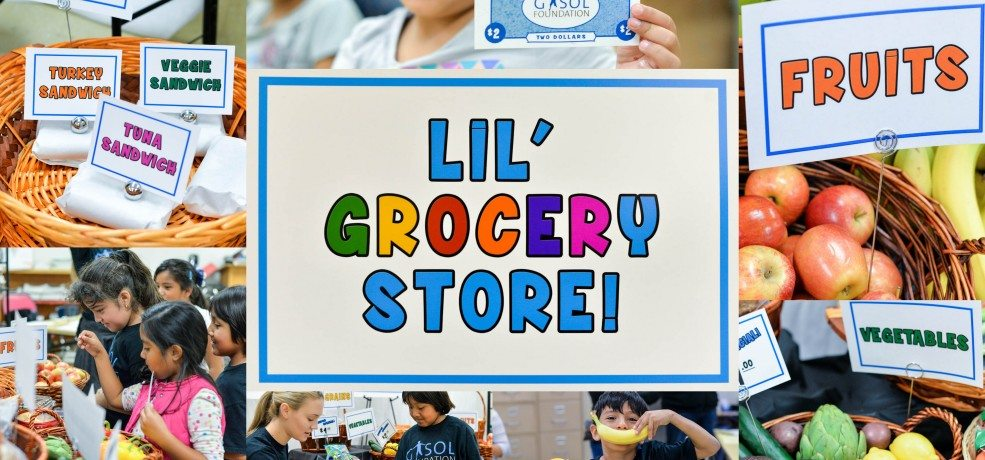 The Grocery Project's Lil' Grocery Store: Food & Financial Security